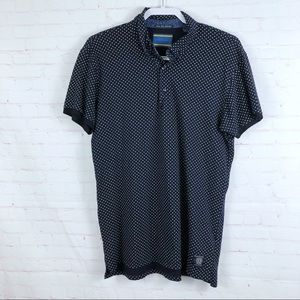 Scotch & Soda Dotted Short Sleeve Polo Short Top